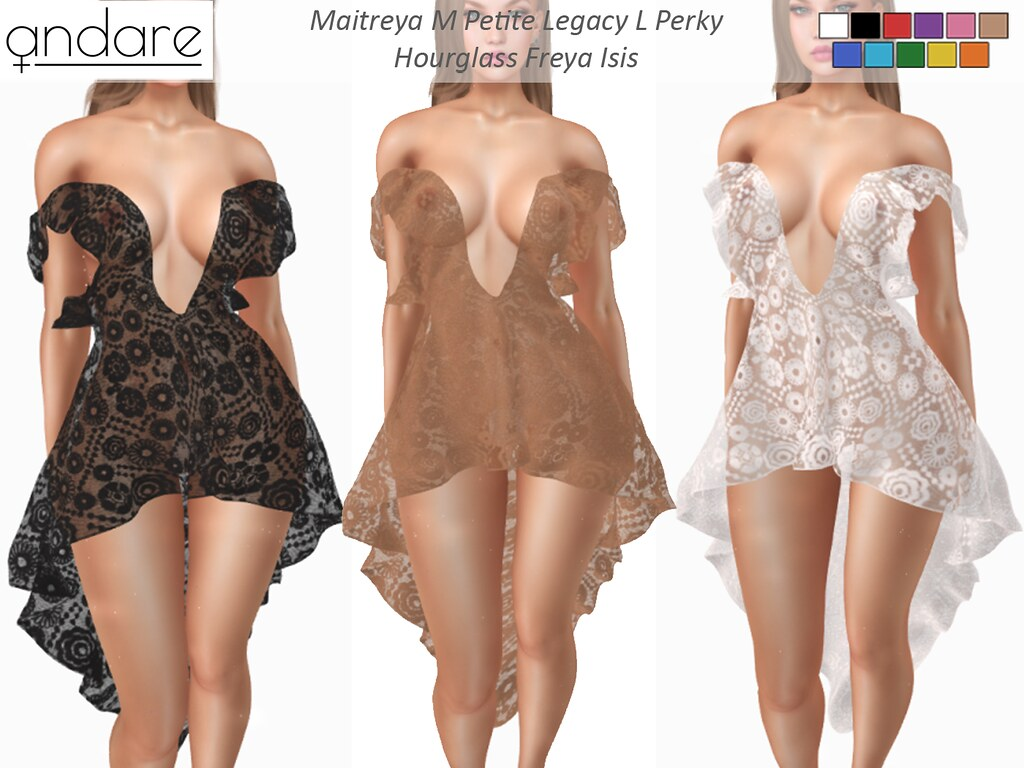 Andare – Elvia Lace Dress FATPACK