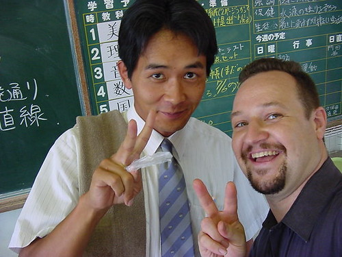 MD and great Imabari JHS teacher (1998)