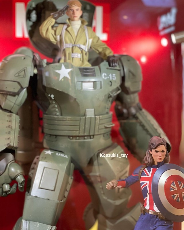 CAPTAIN CARTER HYDRA STOMPER by Hot Toys 04