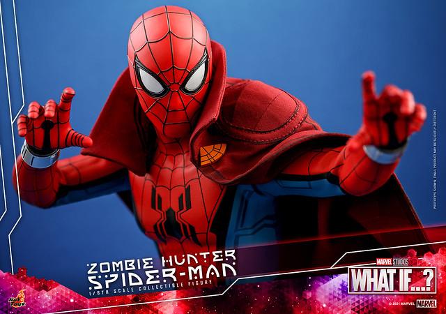 Zombie Hunter Spiderman Hot Toys Press Photo 03