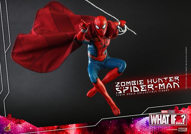 Zombie Hunter Spiderman Hot Toys Press Photo 02