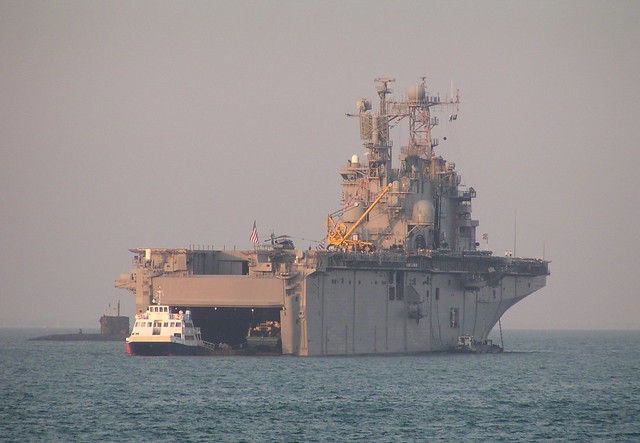 USS Saipan (LHA-2) - Solent