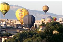 Globos sobre Segovia (II)