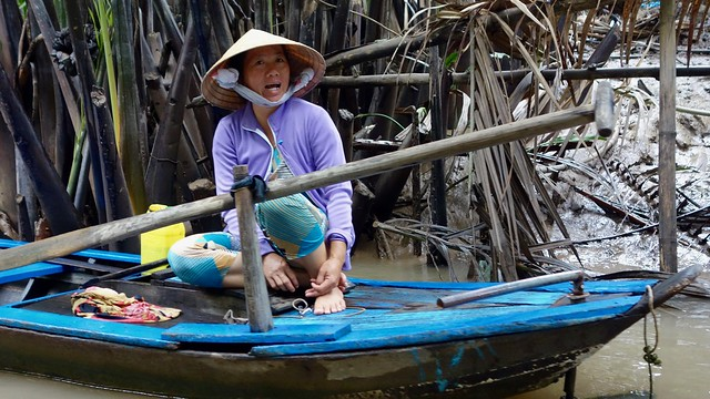 Ho Chi Minh river. VietNam