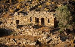 Ikaria/Ικαρία - Abandoned old house with stone roof  | Greece / Ελλάδα