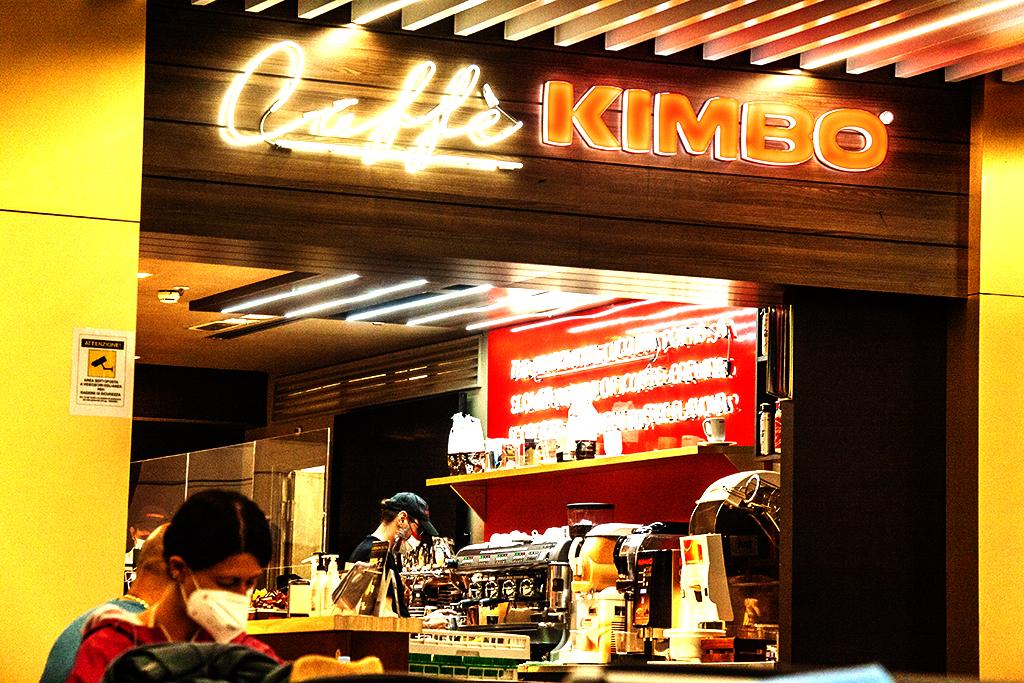 Caffe KIMBO on 8-4-21--Rome