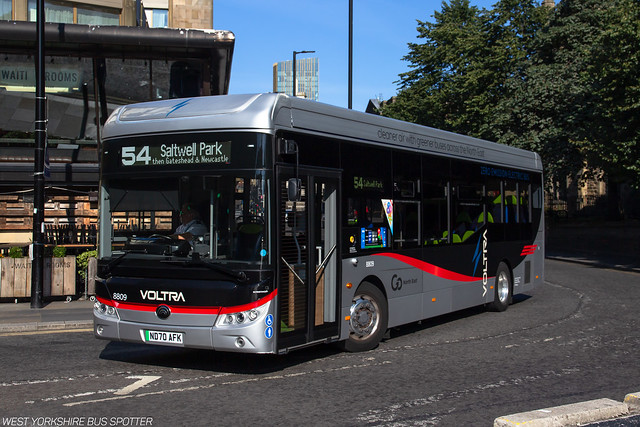 Go North East   8809