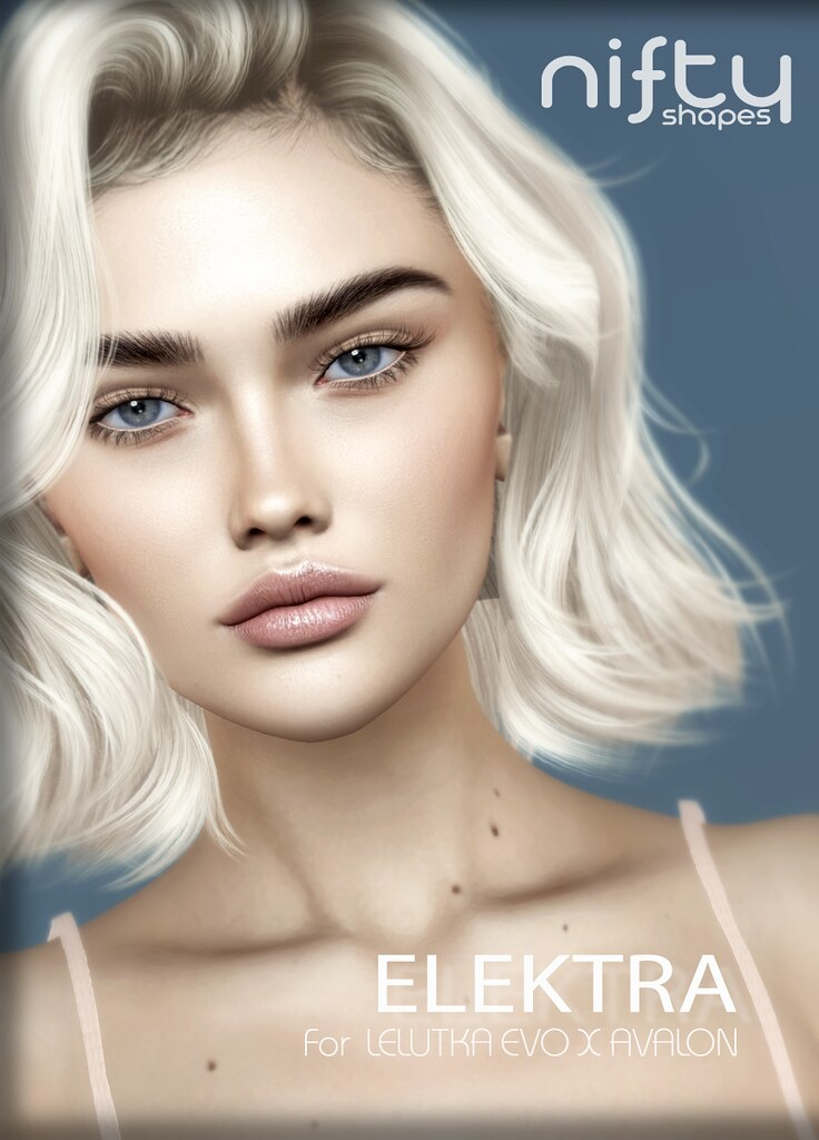:NiFty: ELEKTRA shape for Lelutka Evo X Avalon