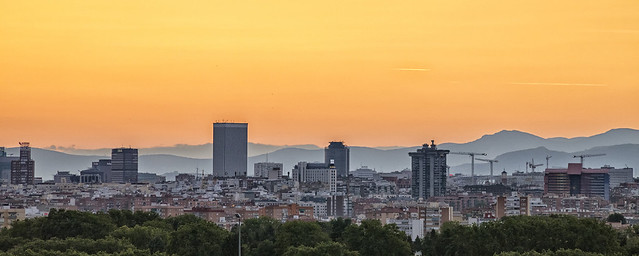 Panorámica de Madrid norte (2)