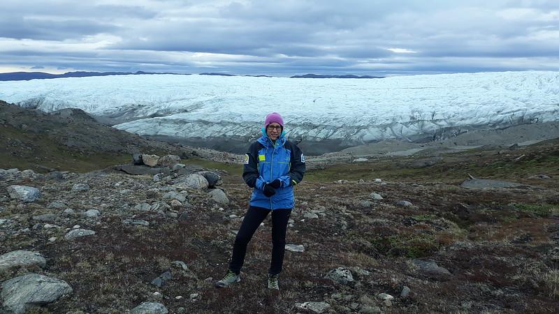 Kangerlussuaq TA Field Trip (Spanish Team): Issunguata Sermia landscape