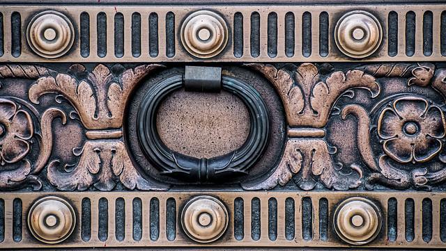 Big Metal Door Knocker