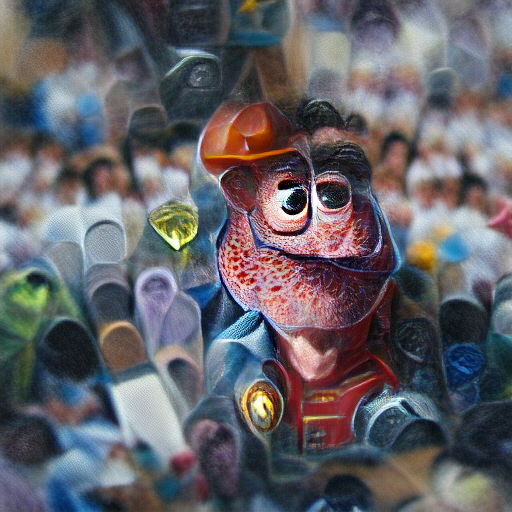 'a detailed painting of a Pixar character' Zoetrope 5 Text-to-Image