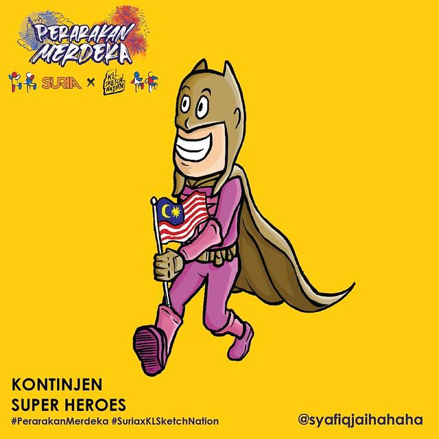 Tema 3 - Kontinjen Super Heroes
