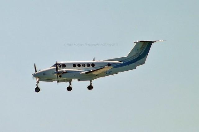 Universita Telematica E-Campus G-EUNI Beechcraft B200 Super King Air cn/BB-1720 @ LFMN / NCE 28-08-2013
