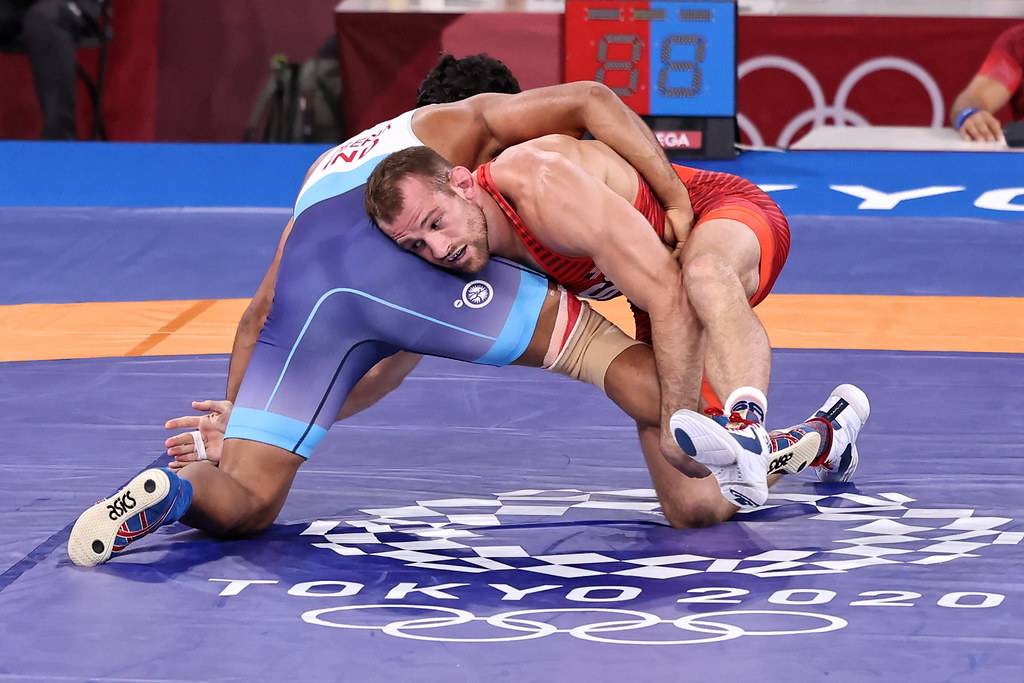 Day 4 - 2020 Olympic Wrestling