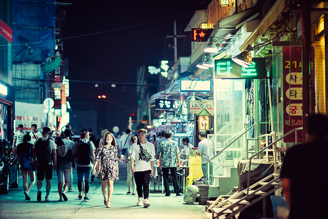Somewhere in Seoul
