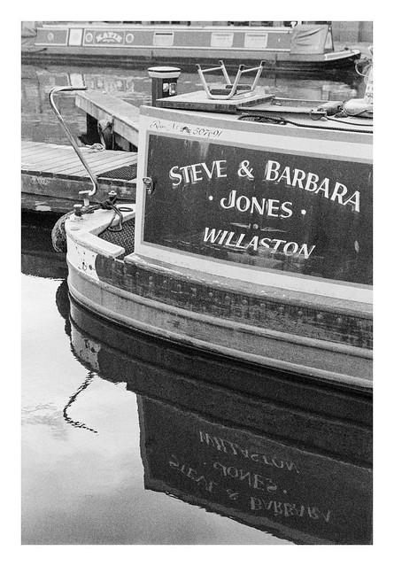 Steve and Barbara's reflection
