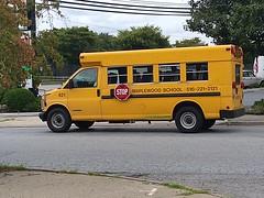 Maplewood School 421: 1999 GMC 3500 VanCon