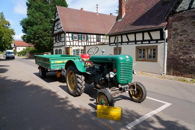 Steyr Dieselschlepper Typ 185