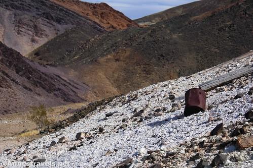 Views up toward the Superior Mine, Death Valley National Park, California