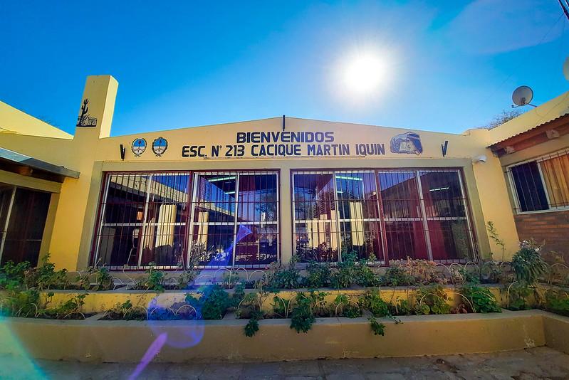 Visita a las Escuelas Primaria y Secundaria de Quilmes | AGO2021