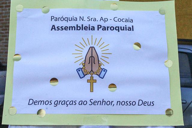 Assembleia Paroquial da Paróquia Nossa Senhora Aparecida - Cocaia