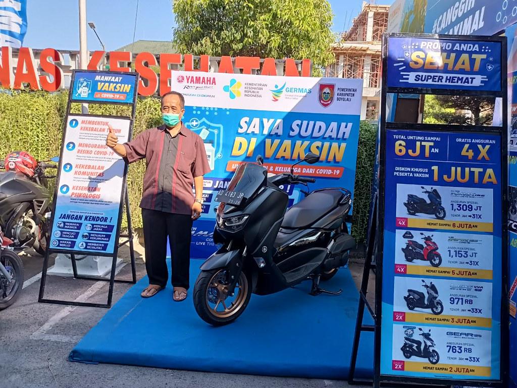 Yamaha Dukung Pelaksanaan Vaksinasi di Jawa Tengah