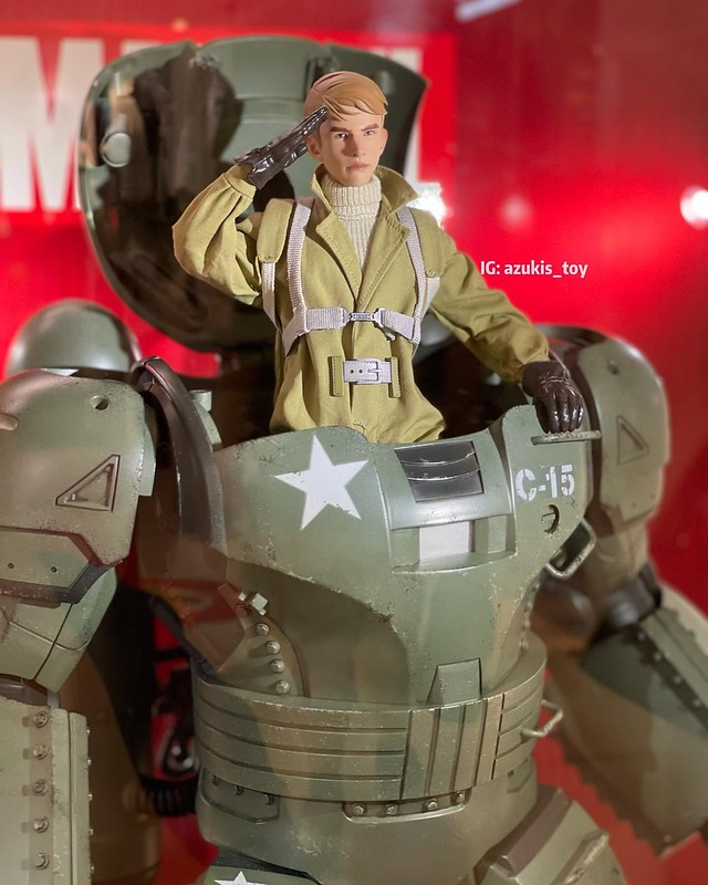 CAPTAIN CARTER HYDRA STOMPER by Hot Toys 02