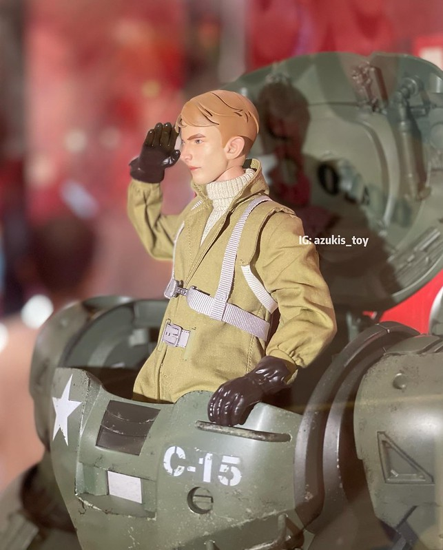 CAPTAIN CARTER HYDRA STOMPER by Hot Toys 03