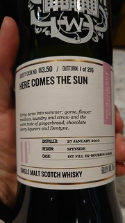 SMWS 113.50 - Here comes the sun