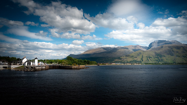 Corpach, The Caledonian, Wreck and The Ben