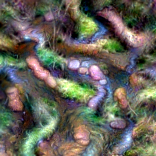 'a babbling brook' CLIP RGB Optimization