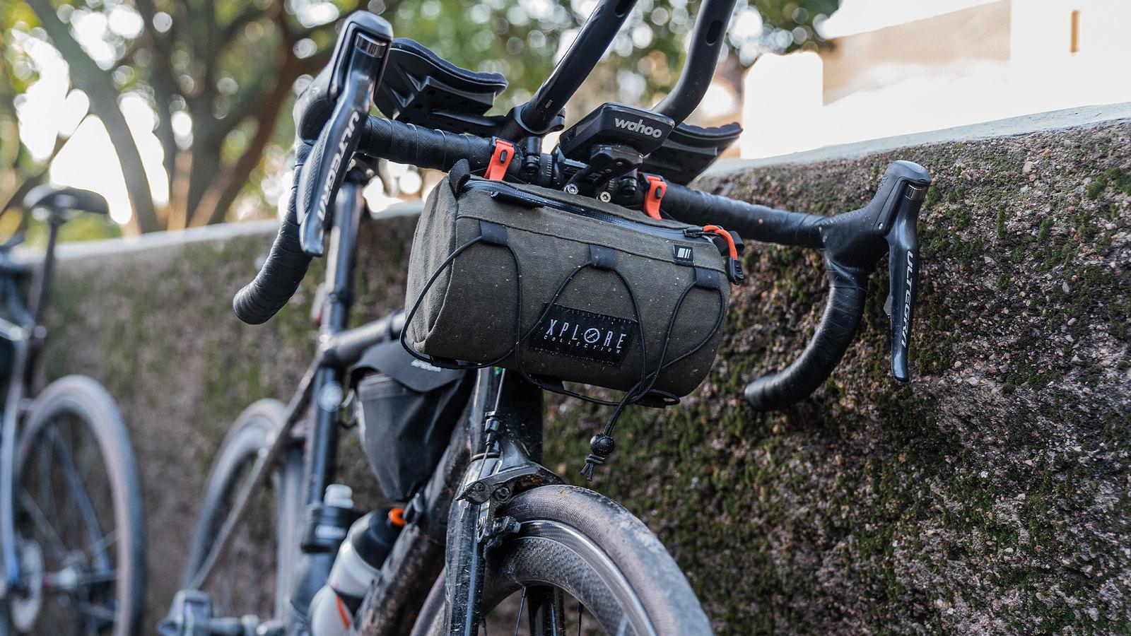 Bolsa Bikepacking Kaki