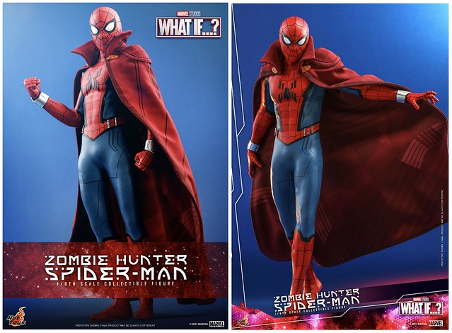 Zombie Hunter Spiderman Hot Toys Press Photo 01