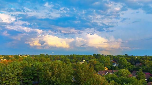 Storm Clouds Over Gaithersburg