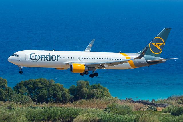 RHO | D-ABUP | Condor 8KE from Frankfurt