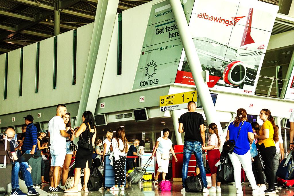 Airport on 8-4-21--Tirana 2