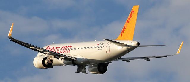 Pegasus Airlines, TC-NCJ, MSN 9307,Airbus A320-251N, 03.08.2021, HAM-EDDH, Hamburg