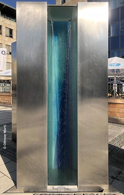 Kunstwerk Drei Brunnenstelen