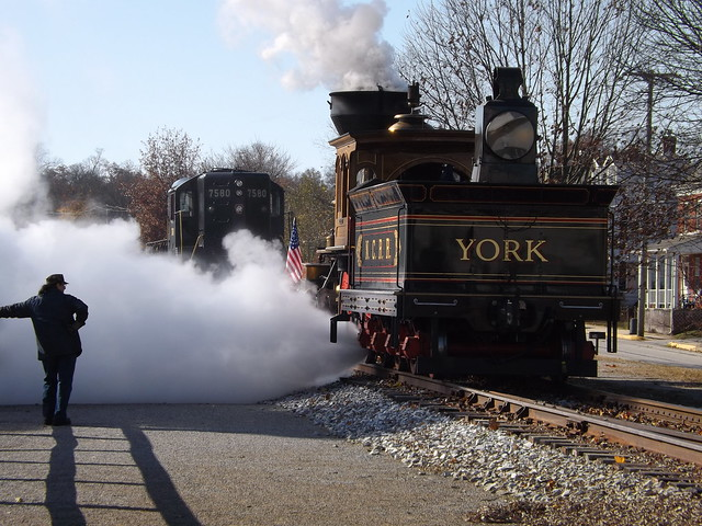 NCRR York, just showin' off