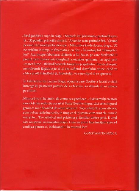 Goethe, Faust. Humanitas, 2015, 2017. Coperta: Angela Rotaru.