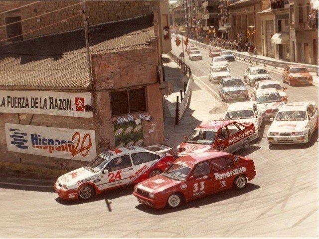 El Circuito Guadalope albergó carreras hasta principios de siglo, cuándo se dejó de utilizar debido a razones de seguridad. Imagen vía: auto10.com