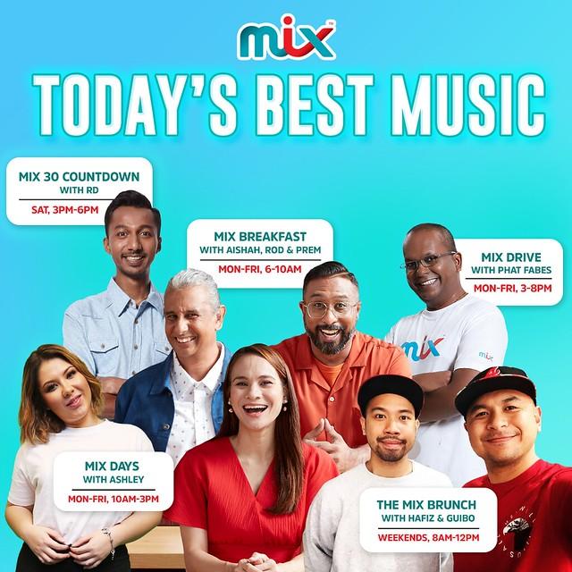 Personaliti Radio Popular Hafiz, Guibo &Amp; Rd Kini Jadi Penyampai Radio Mix