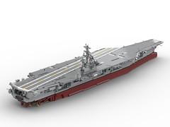 Nimitz Class Aircraft Carrier (USS Ronald Reagan CVN-76)