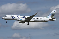Airbus A220-371 - REU - F-OMER - s/n 55116