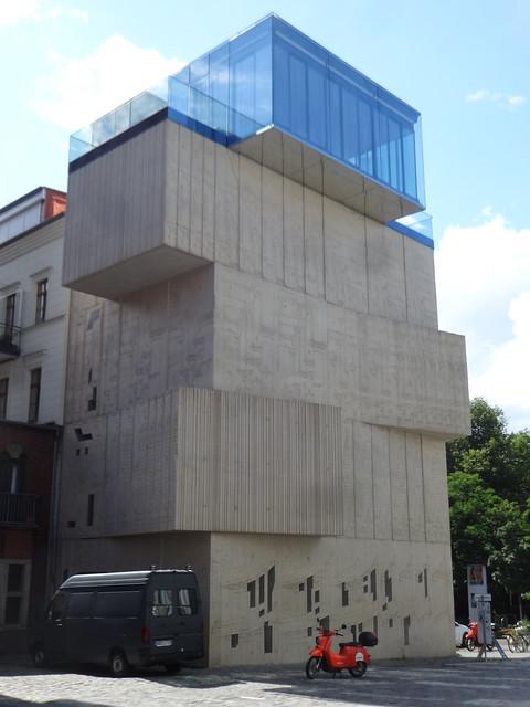 2013 Berlin Museum für Architekturzeichnung von Sergej Tchoban (nps) Christinenstraße 18a in 10119 Prenzlauer Berg