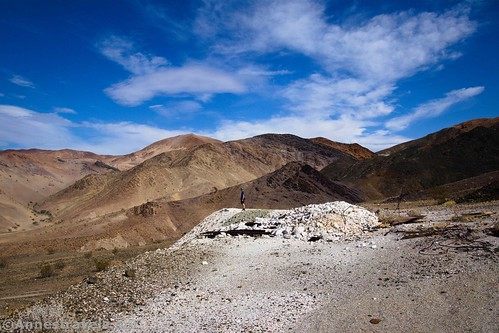 At the Whitecap Mine, Death Valley National Park, California