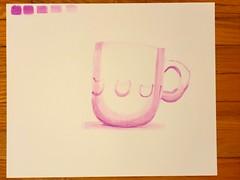Ink wash (5 step)