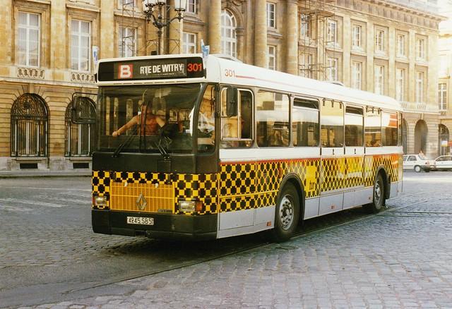 Renault SC10R tur N° 301 Ligne B Reims (51 Marne) 1988a