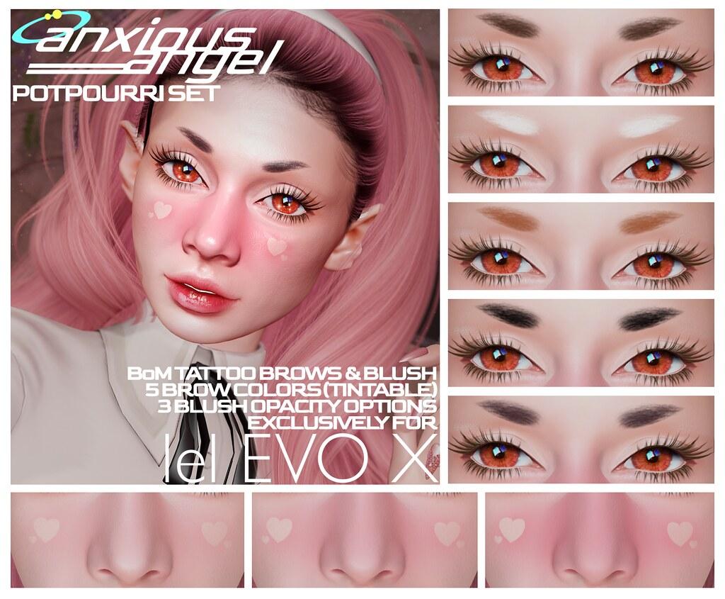 { anxious angel } Potpourri Make-Up Sets